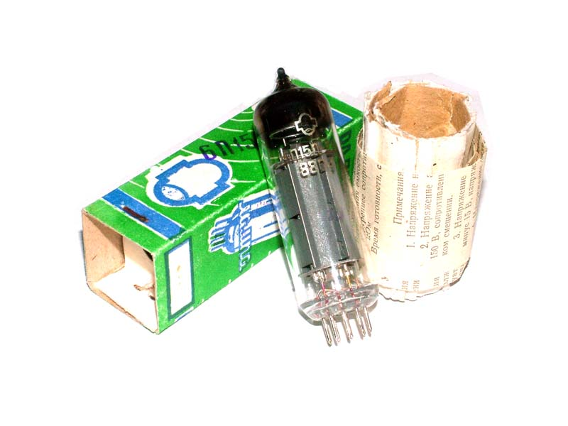 6P15P-EV / EL83 / SV83 tube (original box)